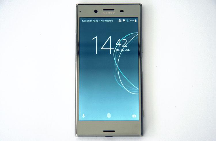 Sony Xperia XZ Premium Sperrbildschirm