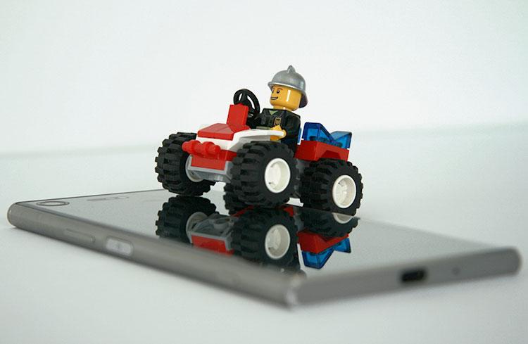 Sony Xperia XZ Premium: Spieglein, Spieglein an der Wand