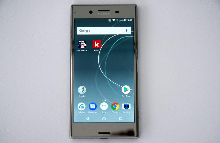 Sony Xperia XZ Premium Home-Screen