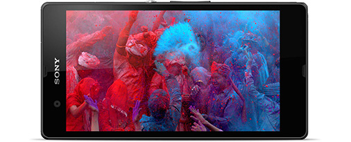 Farbintensives Display: Sony Xperia Z