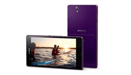 Kamera-Smartphone Sony Xpera Z