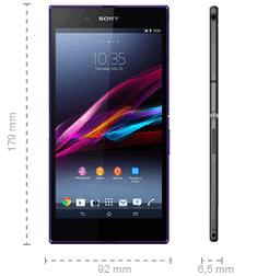 Sony Xperia Z Ultra Abmessungen