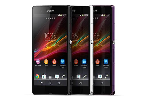 Sony Xpera Z Farbvarianten