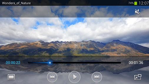 Videos abspielen auf dem Samsung Galaxy S3 LTE