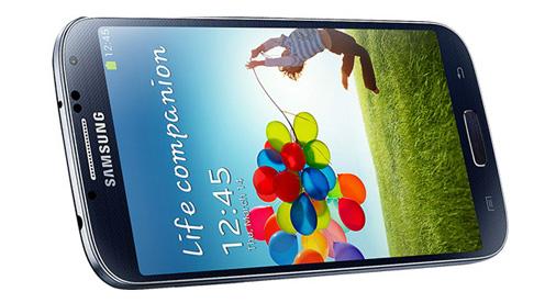 Samsung Galaxy S4 Ansicht