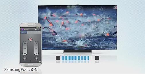 Videos abspielen auf dem Samsung Galaxy S4 WatchON