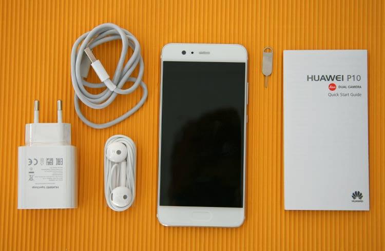 Huawei P10 Lieferumfang