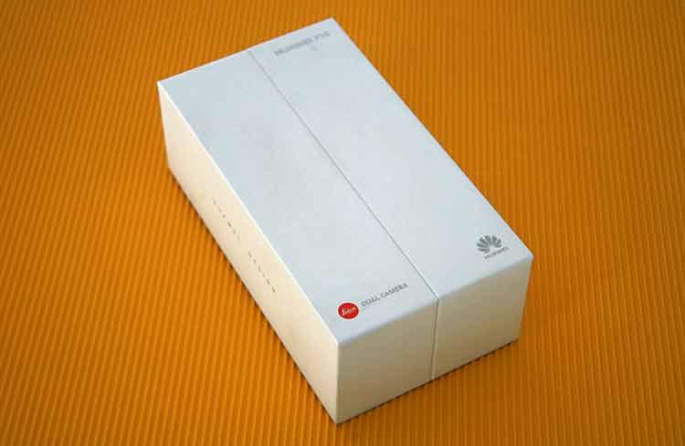 Huawei P10 Verpackung