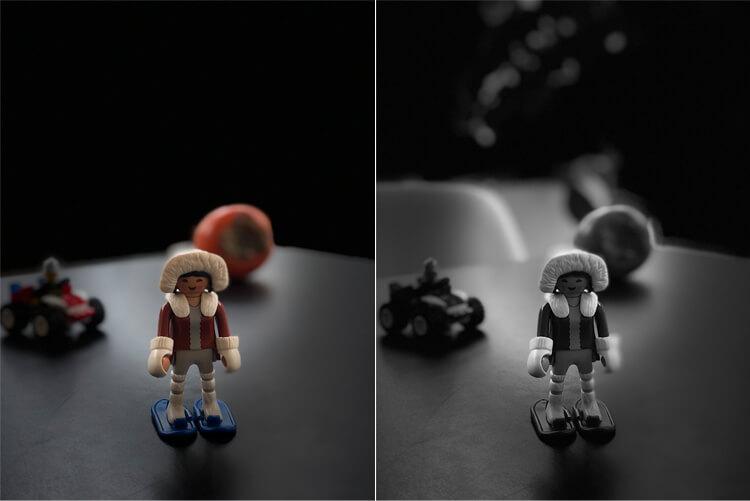 iPhone X Porträtmodus - Bühnenlicht und Bühnenlicht Mono
