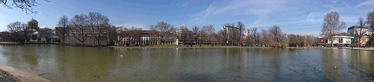 Panoramafoto mit Kamera des Sony Xperia T aufgenommen