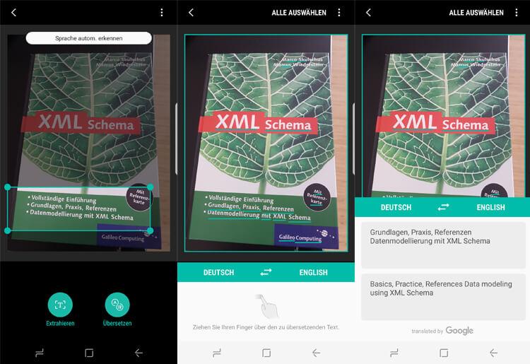Samsung Galaxy S8 Bixby - Übersetzungs-Funktion