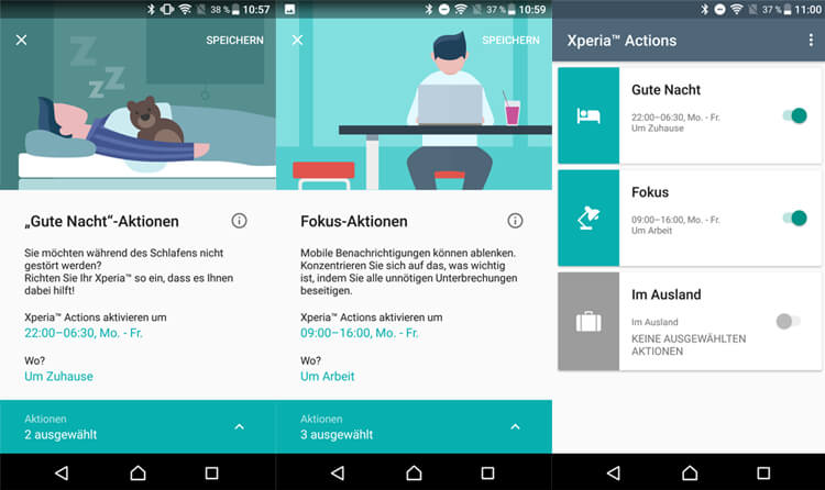 Xperia Actions