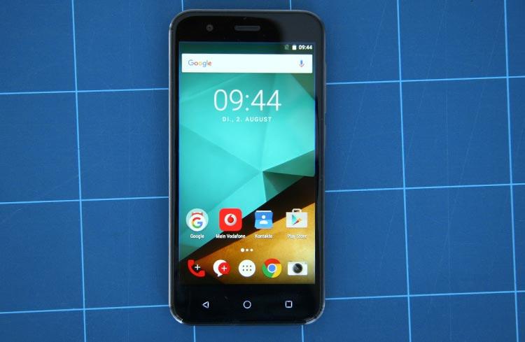 Vodafone Smart Prime 7 Frontansicht