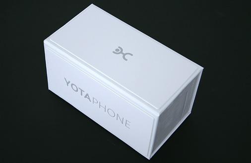 Yotaphone Verpackung