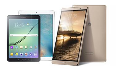 Auswahl aktueller Tablets
